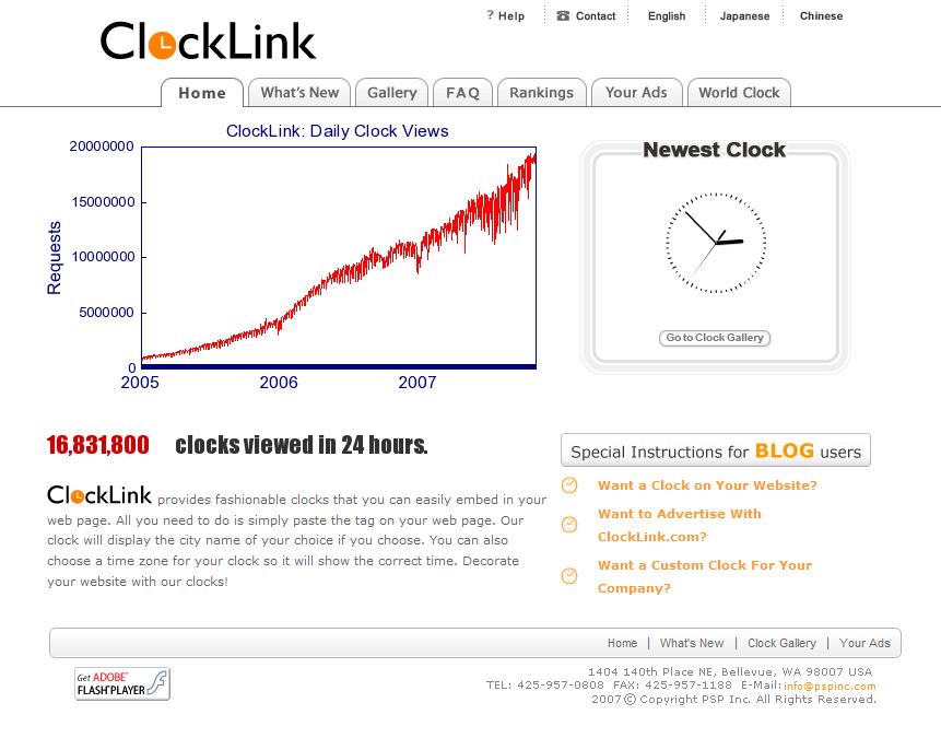 www_clocklink_com