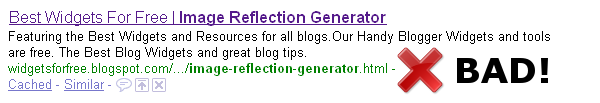 Change the Title Tags in Blogger for More Search Engine