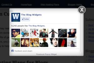 blog best facebook widget