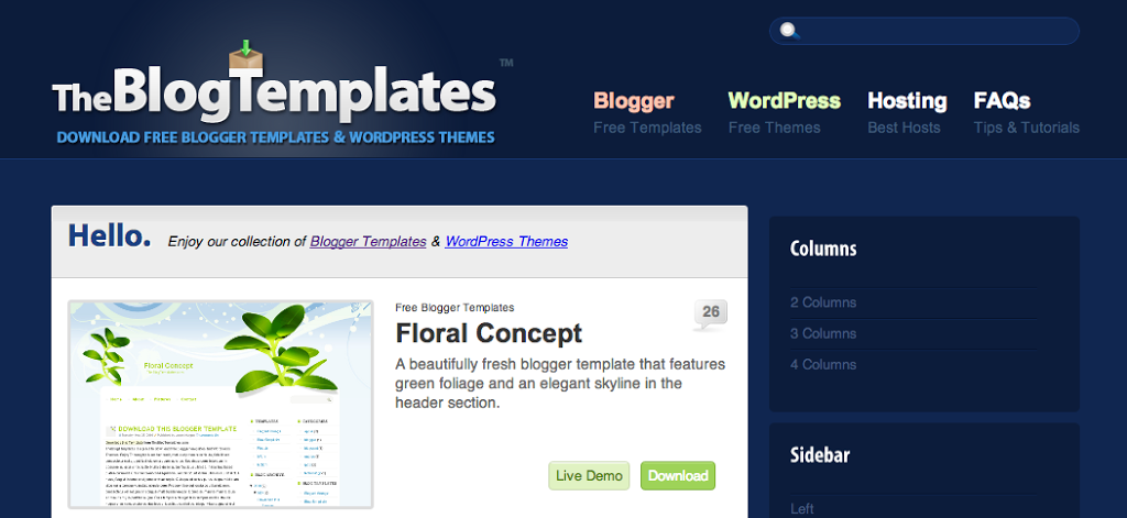 Free Blogger Templates - Best Blog Widgets For FreeBest Blog Widgets ...