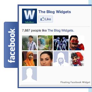 Floating Facebook Like Box Widget For Your Website
